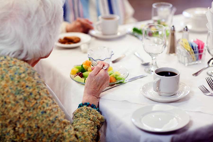 Dining at Cordia